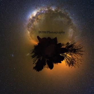 Planet Milky way